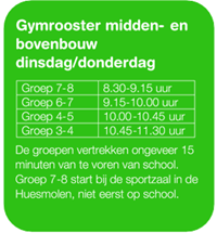 Gymrooster 2020-2021